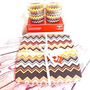 Missoni Tuscan Sunrise 8 Piece Set Tumblers&Plates